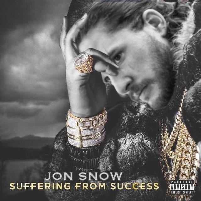GoT meme with Jon Snow as DJ Khaled suffering from success