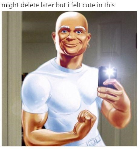 meme - Muscle - might delete later but i felt cute in this