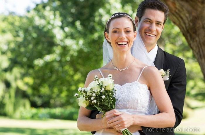 Bride - not the actual photo