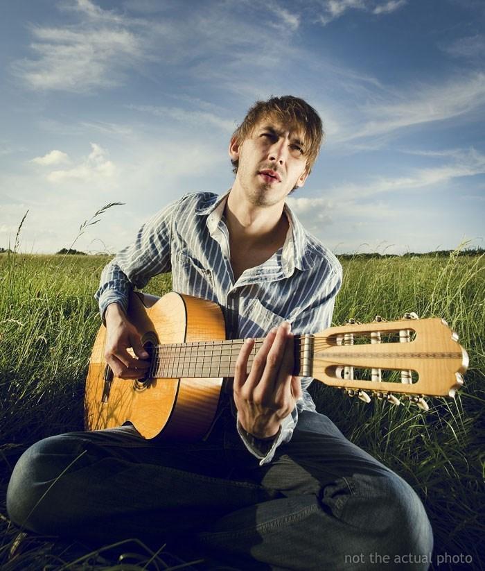 Guitar - not the actual photo