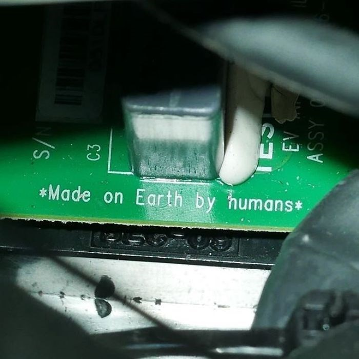 Green - Made on Earth by humans C3 A3 ASSY