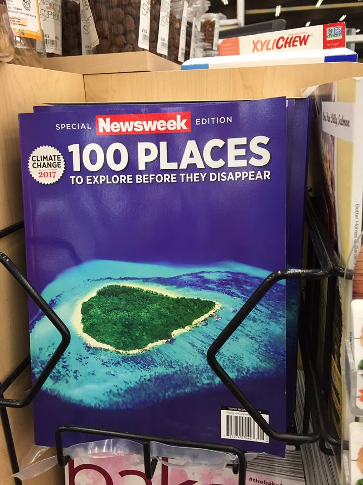 Banner - SPO XYLICHEW SPECIAL Newsweek EDITION 100 PLACES CLIMATE CHANGE 2017 TO EXPLORE BEFORE THEY DISAPPEAR 10P MEDL gle ee 25274'570 #thebak Better Homes Gard