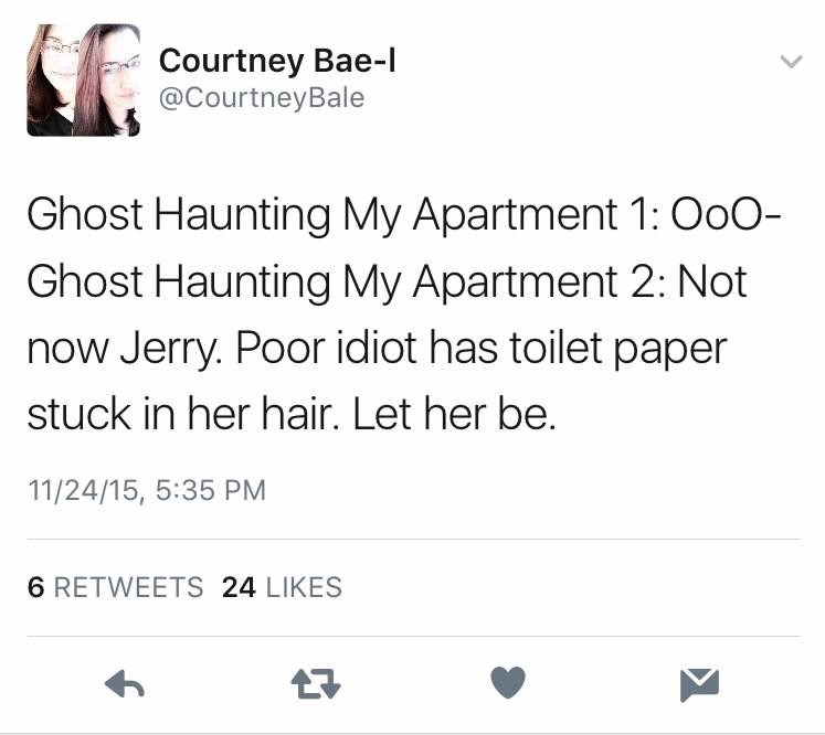 random meme about ghost haunting