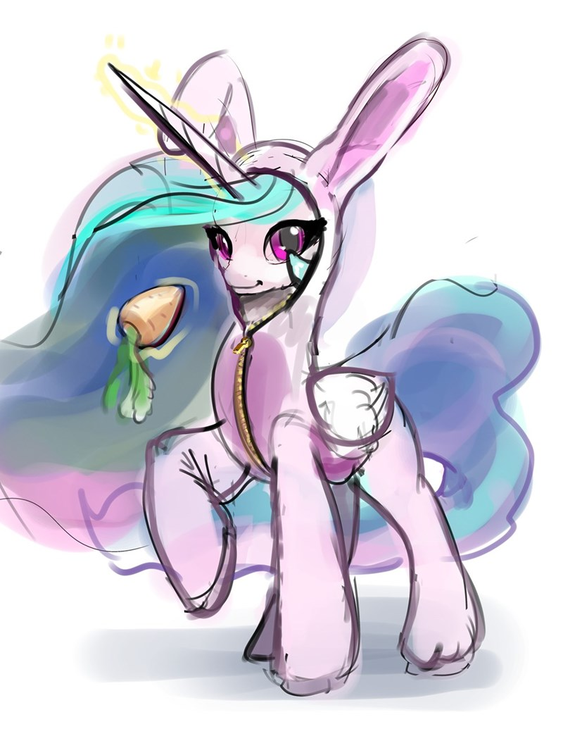easter princess celestia xbi - 9296611584