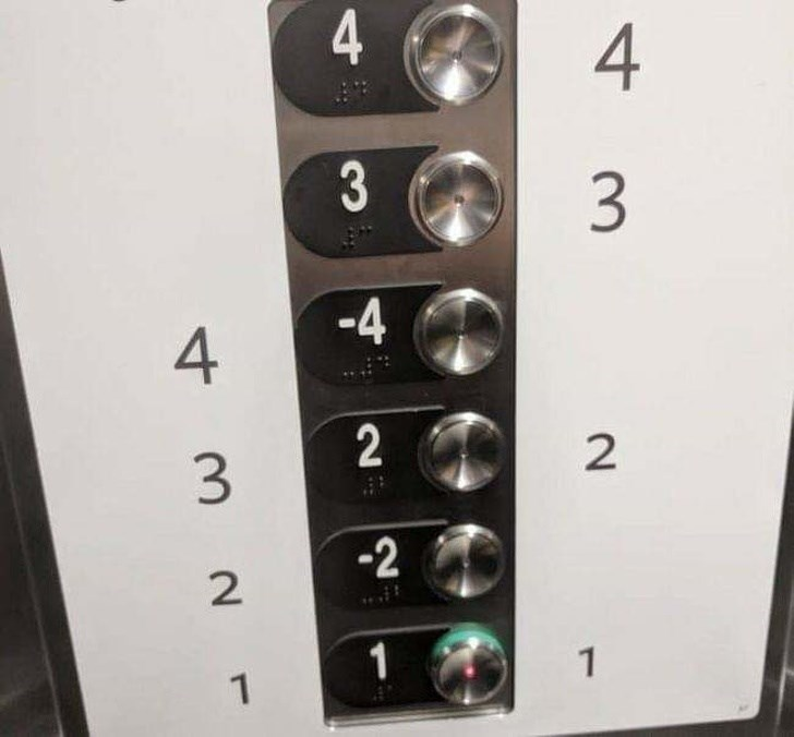 Worlds Most Confusing Elevator?