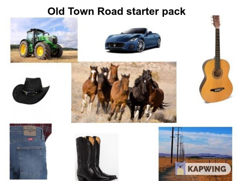 starter pack for old town road