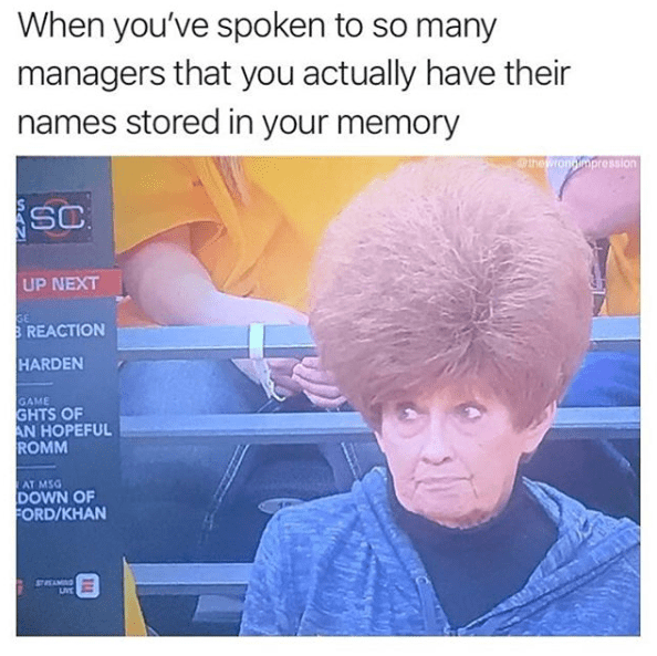 Funny meme about karen, speak to the manager.