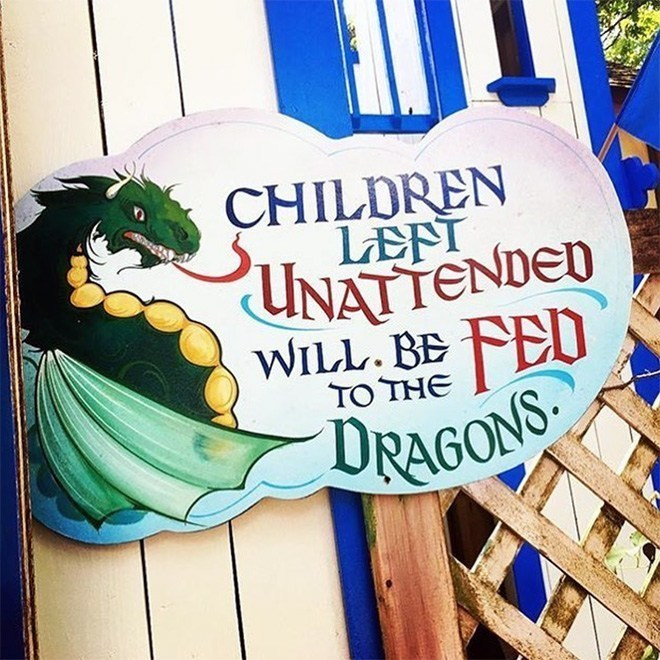 Vacation - CHILDREN UNATTENDED WILL. BEE TO THE URAGONS