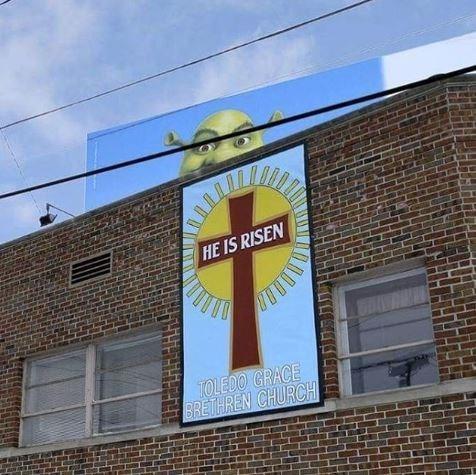 Advertising - HE IS RISEN TOLEDO GRACE BRETHREN CHURCH