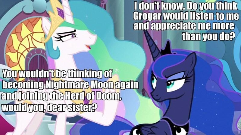 twilight's seven screencap sammyw28 princess luna princess celestia - 9297605632