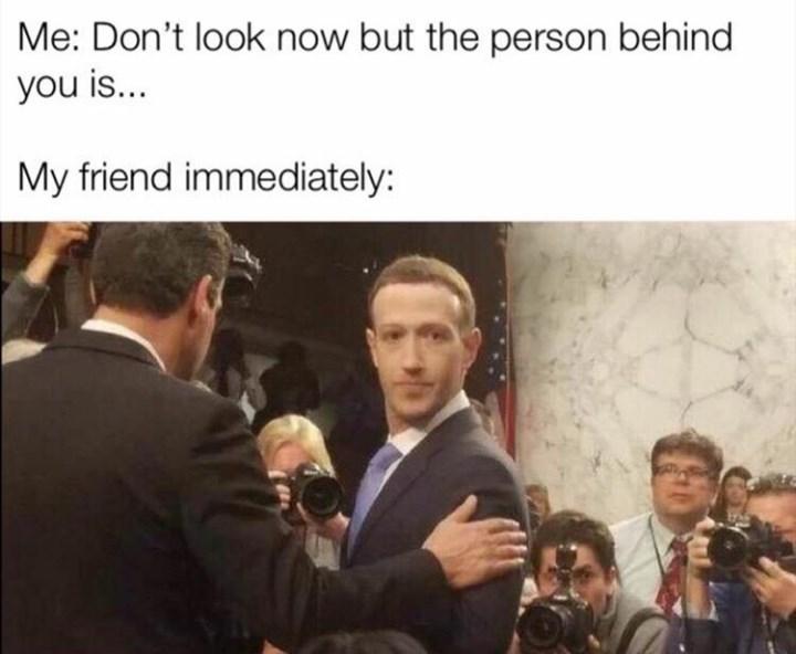 random meme with marc zuckerberg looking in court weirdly