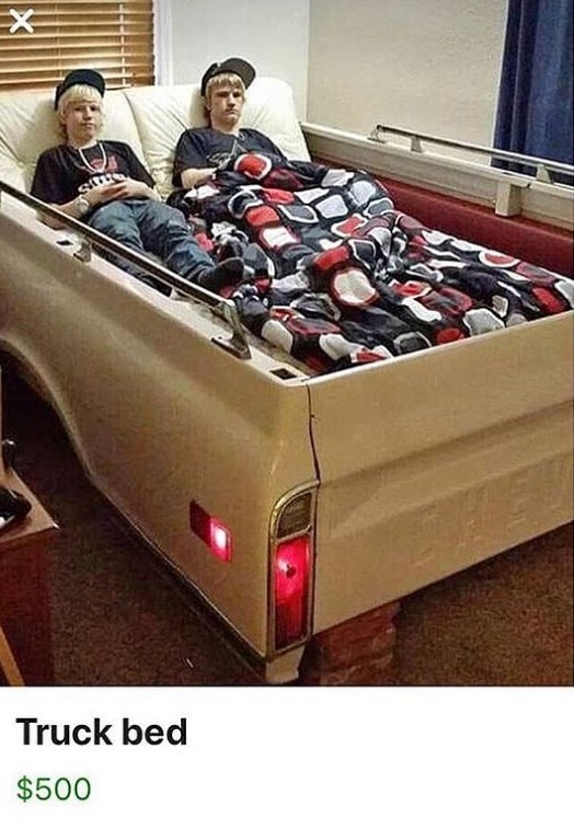 cringe - Motor vehicle - X Truck bed $500