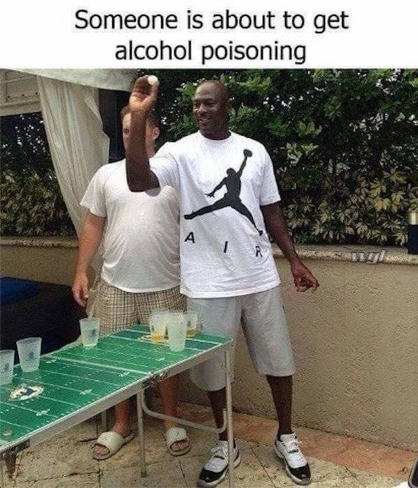 alcohol memes alcohol meme - T-shirt - Someone is about to get alcohol poisoning A P