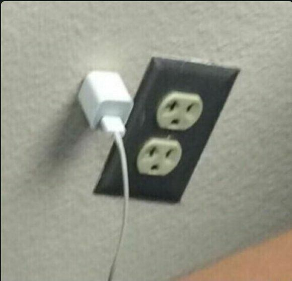 cursed image - Power plugs and sockets