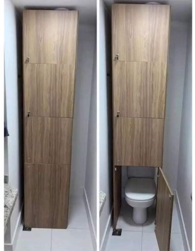 cursed_images - toilet hidden behind closet