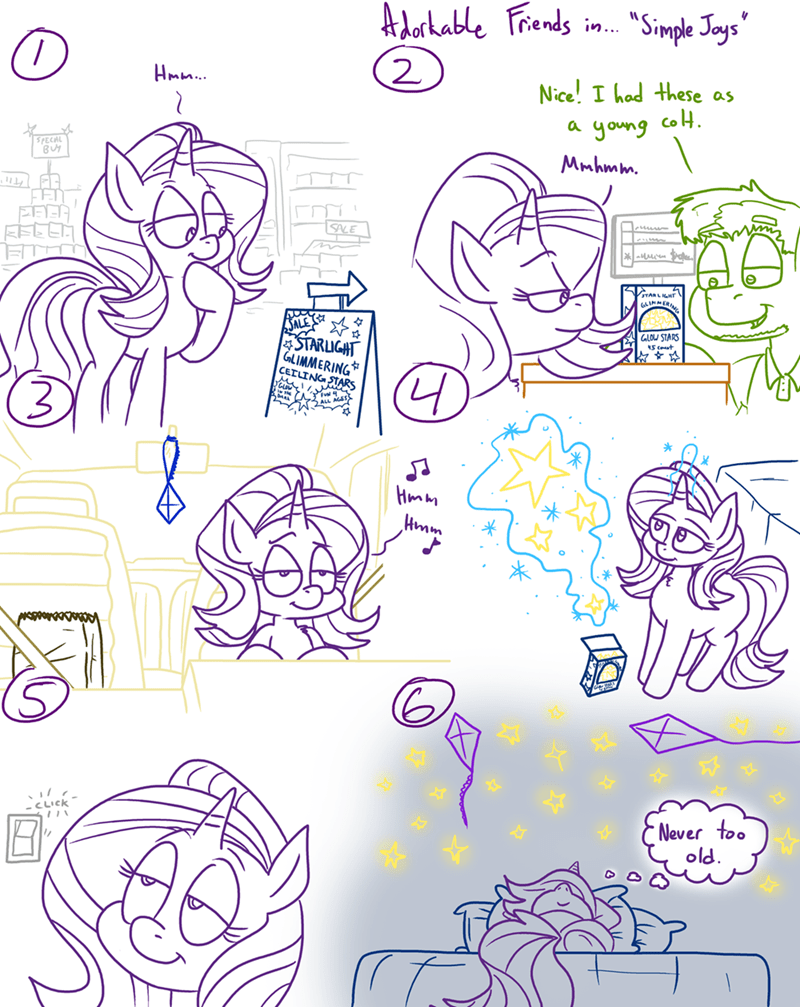 OC starlight glimmer adorkable twilight and friends - 9299180544