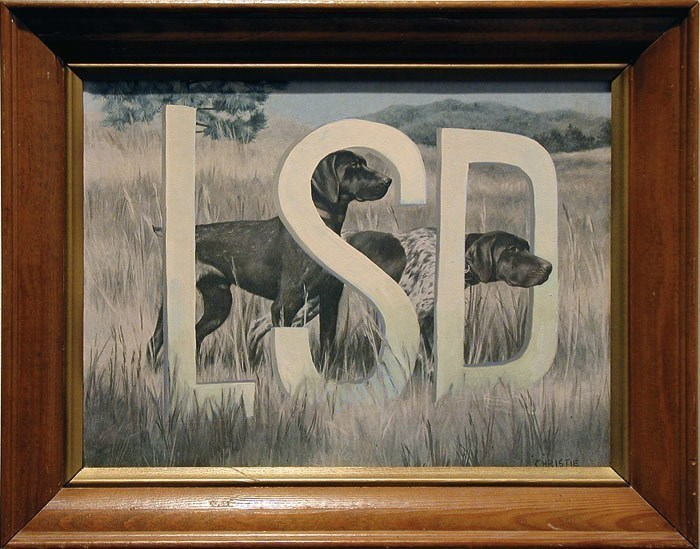 Picture frame - LSD CHRISTIE