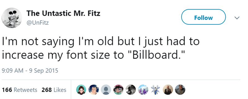 """Text - The Untastic Mr. Fitz Follow @UnFitz 
