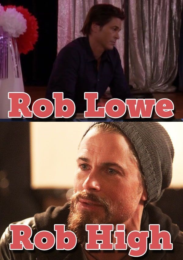 Photo caption - Rob Lowe Rob High
