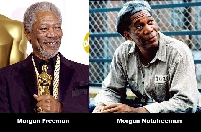 Smile - 302 Morgan Notafreeman Morgan Freeman