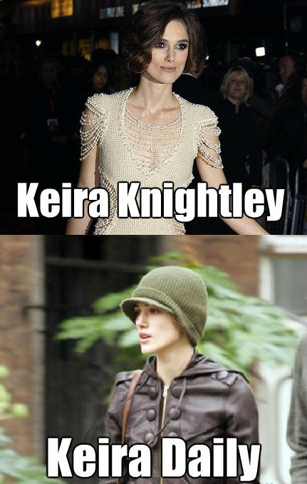 Fashion - Keira Knightley Keira Daily