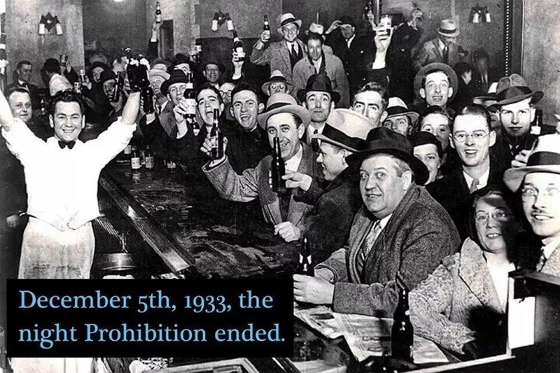 People - December 5th, 1933, the night Prohibition ended.