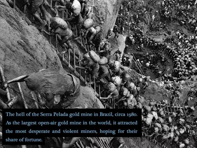Adaptation - The hell of the Serra Pelada gold mine in Brazil, circa 1980. As the largest open-air gold mine in the world, it attracted the most desperate and violent miners, hoping for their share of fortune.