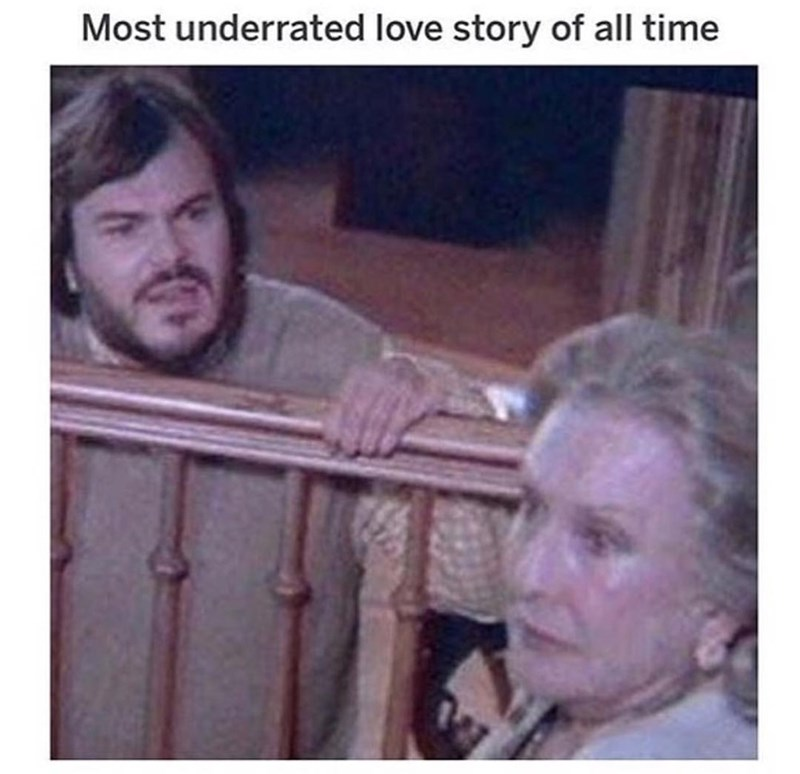 Photo caption - Most underrated love story of all time