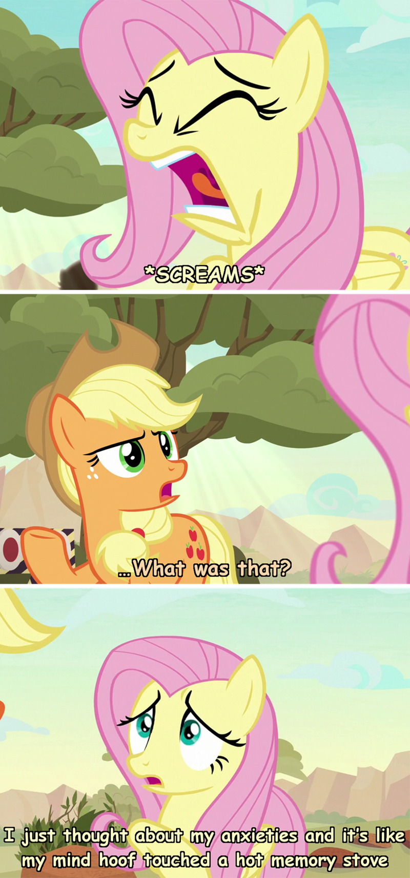 applejack incorrect my little pony quotes sounds of silence fluttershy adventure time - 9300917504