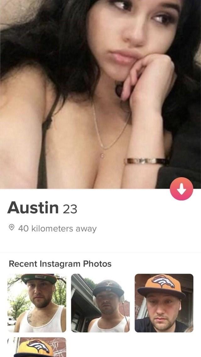 tinder - Nose - Austin 23 40 kilometers away Recent Instagram Photos