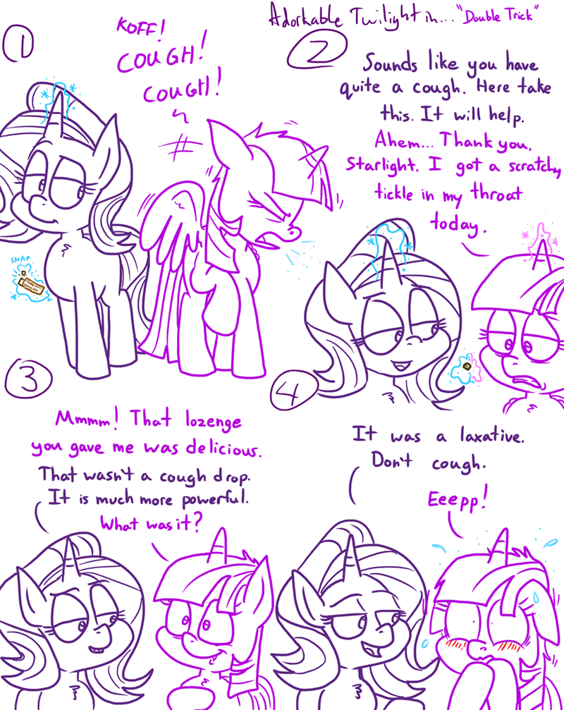 starlight glimmer twilight sparkle adorkable twilight and friends - 9301859840