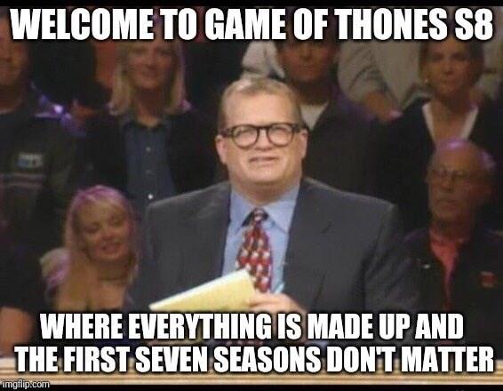 Game of Thrones Season 8 Episode 4 about how season 8 sucks