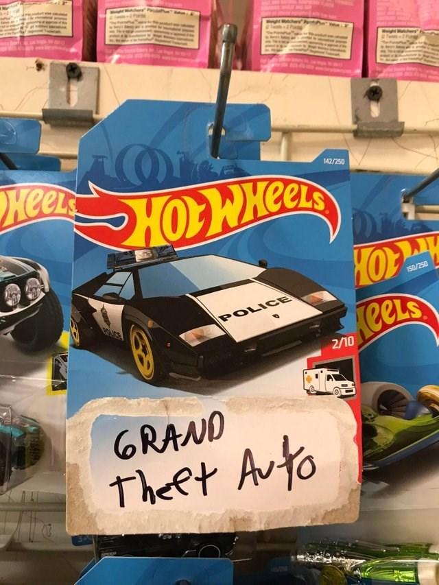 Motor vehicle - Wight Wche Heek e 142/250 150/250 POLICE eels 2/10 GRAND Theet Avto