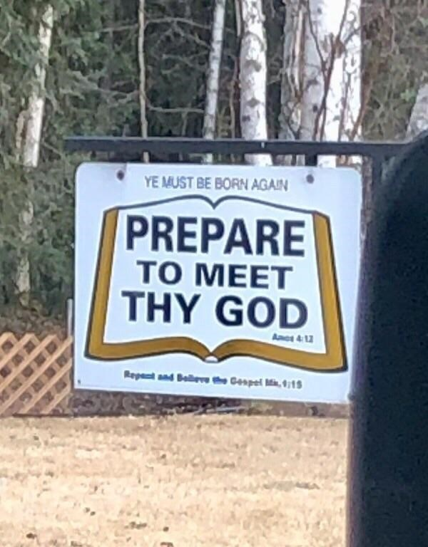 Font - YE MUST BE BORN AGAIN PREPARE тО МЕЕТ THY GOD As 4 12 Repant and Baleve t Geapel Mi,15
