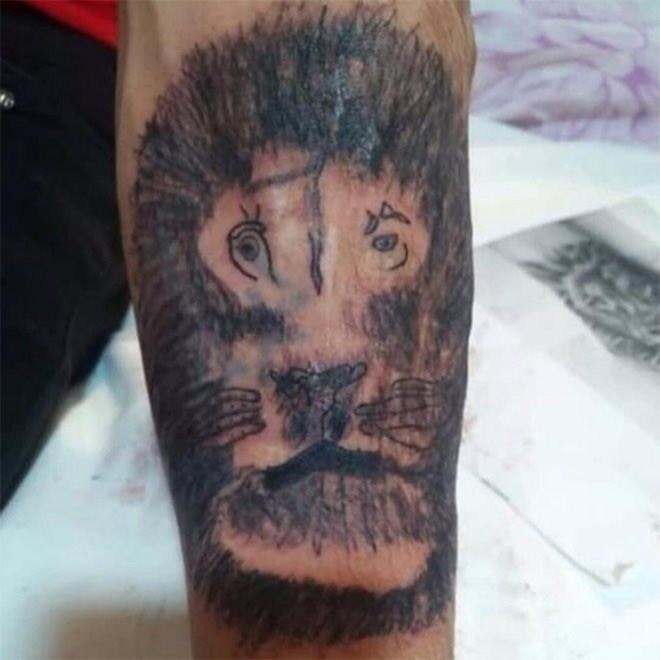tattoo fail - Tattoo