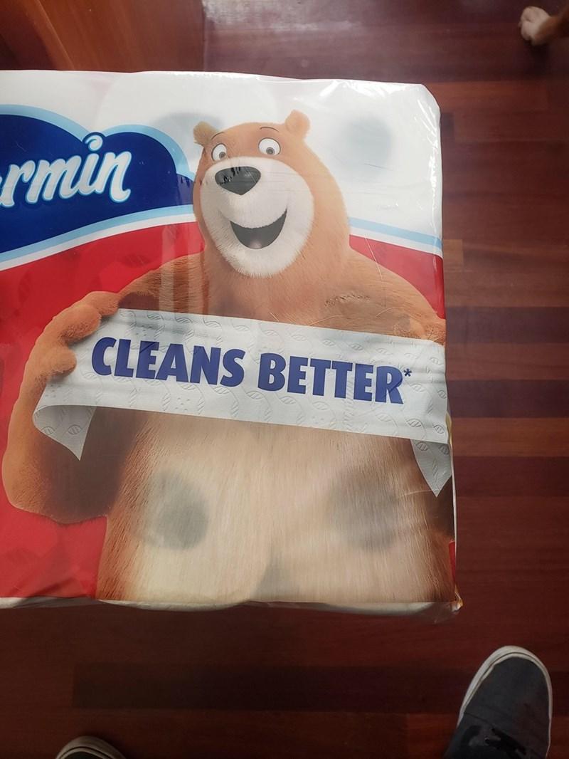 Junk food - rmin CLEANS BETTER