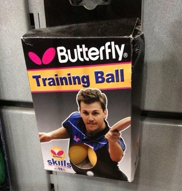 Arm - Butterfly. Training Ball skills tta