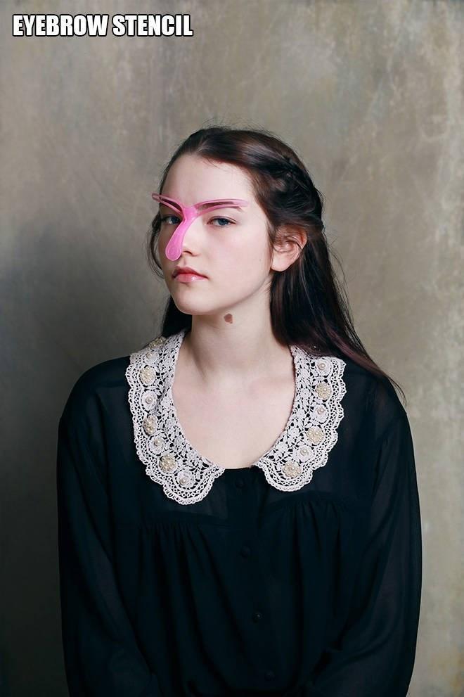 bad beauty product - Hair - EYEBROW STENCIL