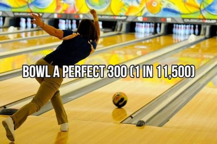 Bowling - BOWL A PERFECT 300 01 IN 11,500)