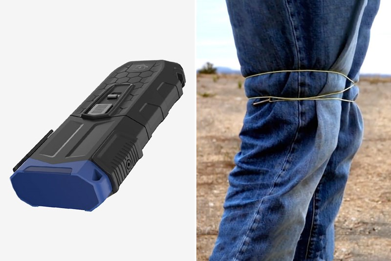 new spiderman lasso device could be the end of tasers
