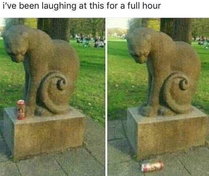 Statue - i've been laughing at this for a full hour