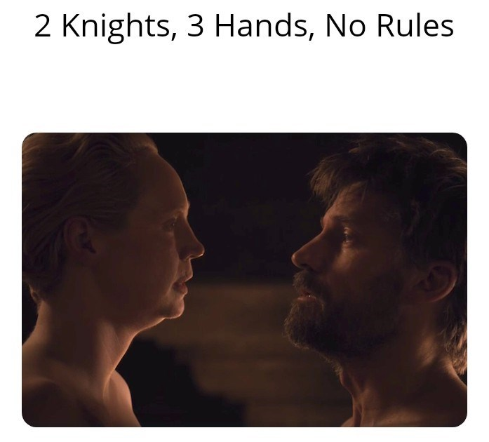 Face - 2 Knights, 3 Hands, No Rules