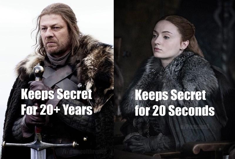 Fur - Keeps Secret For 20+ Years Keeps Secret for 20 Seconds 0/Paasanto /gameofthr