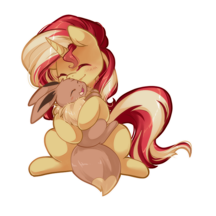 Pokémon loyaldis sunset shimmer - 9303732224