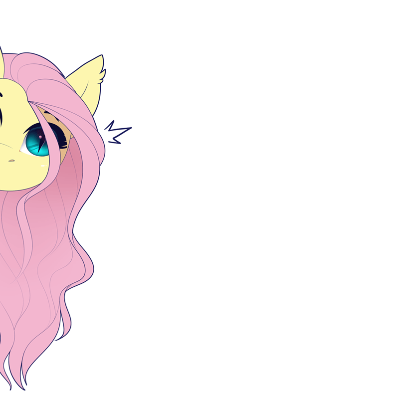 flutterbat evehly owo animated fluttershy - 9303734528