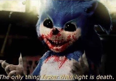 Funny edit of Sonic the Hedgehog - Creepy
