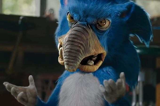 Funny edit of Sonic the Hedgehog - Star Wars