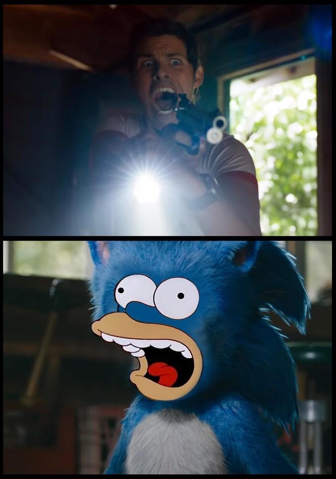 Funny edit of Sonic the Hedgehog - Futurama