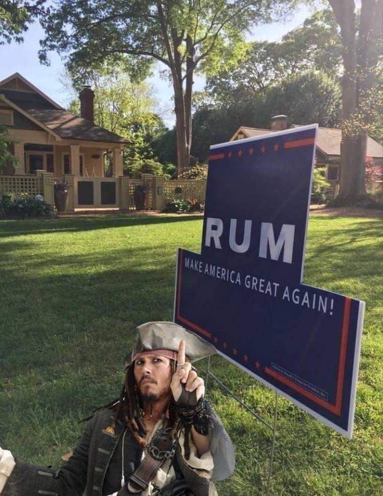 dank memes - Grass - RUM MAKE AMERICA GREAT AGAIN!