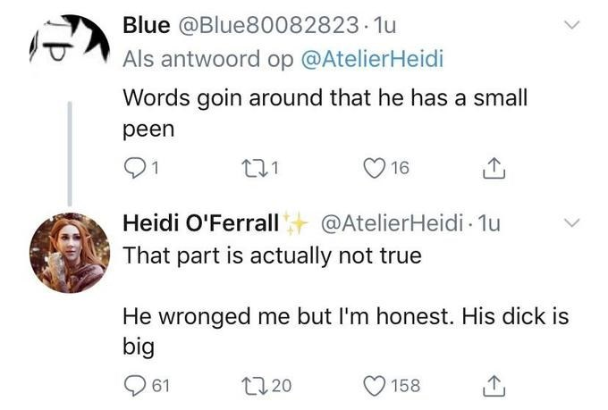 Tweets about ProJared's penis.